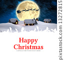 Composite image of happy christmas 13272815