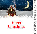 Composite image of merry christmas 13273229