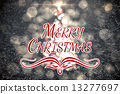 Composite image of merry christmas 13277697