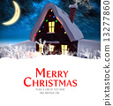 Composite image of merry christmas 13277860