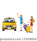 taxi taxis touristic 13309604
