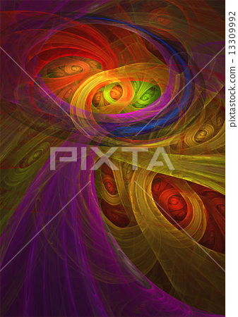 Yellow and purple abstract background 13309992