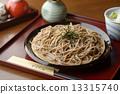 蕎麥麵 日本蕎麥麵 麵條 13315740