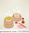 Cute Dim sum - Chinese Food 13316658