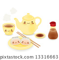 Cute Dim sum - Chinese Food 13316663