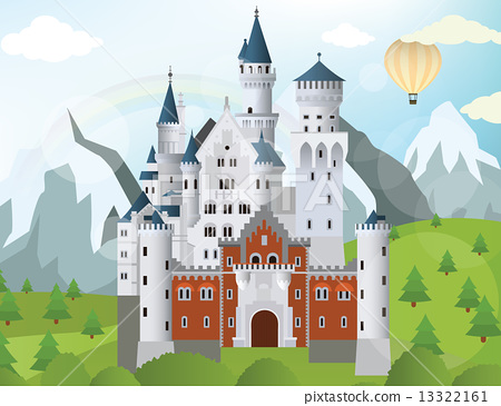 Fairytale castle 13322161