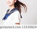 School girl high school student image 13326826