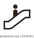 Escalator icon 13329161