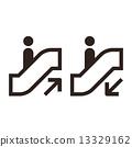 Escalator icons 13329162