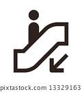 自動扶梯 ICON 圖示 13329163