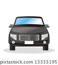 an automobile, carriage, car 13333195