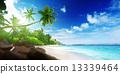 鹹水湖 海浪 海景 13339464