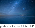 Uyuni Salt Lake Starry Sky 13340385