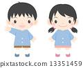 kindergarten, pupil, kindergartener 13351459