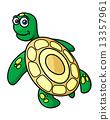 动物 乌龟 卡通 13357961