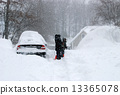 snow clearing, Snow Removal, fallen snow 13365078