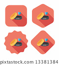 bracelet illustration flat 13381384