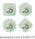 輪椅 輪子 車輪 13385273