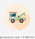 tow, truck, icon 13386101