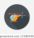 helicopter, icon, illustration 13386499