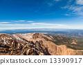 View from Pike Peak summit, Colorado Springs, CO 13390917