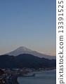 새벽, 후지산, 카탈로그 13391525