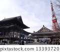 조우 죠 본당, 안국 전과 도쿄 타워 13393720