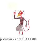 惡魔 魔鬼 插圖 13413308