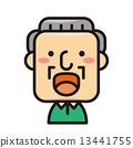 man, grandad, grandpa 13441755
