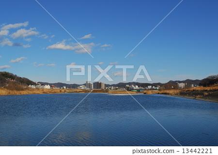 From Watarase Bridge upstream 13442221