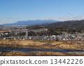 Akagi mountain viewed from Ashikaga-shi 13442226