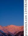 Shinshu Northern Alps Hakubadake morning glow image 13448828
