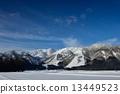 백마, 설산, 겨울 13449523