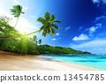 鹹水湖 海浪 海景 13454785