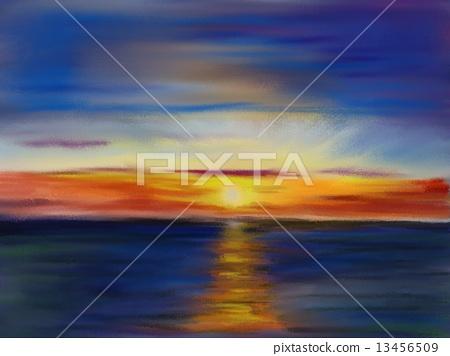 Sunset of Ajigasawa 13456509