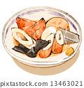 關東煮 筒狀魚糊蛋糕 海帶 13463021