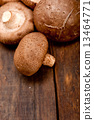 shiitake mushrooms 13464771