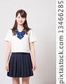 School girl high school student image 13466285