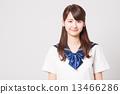 School girl high school student image 13466286