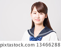 School girl high school student image 13466288