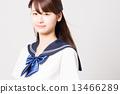 School girl high school student image 13466289