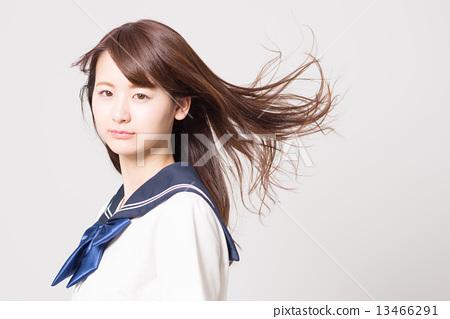 School girl high school student image 13466291