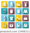 icons, clothe, set 13466311