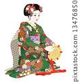 歌舞伎 女性 女 13476850