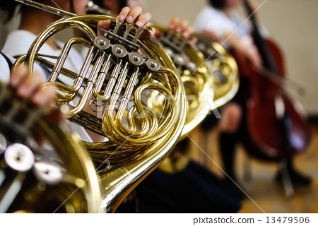 Horn and brass band - Stock Photo [13479506] - PIXTA