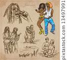 pack jamaica hand 13497991