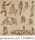 Natives - Hand drawn vectors 13498031