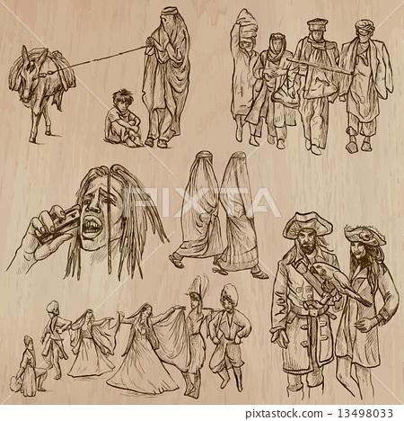 Natives - Hand drawn vectors 13498033