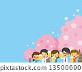 賞櫻 賞花 觀賞櫻花 13500690