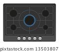 矢量 矢量图 炉子 13503807